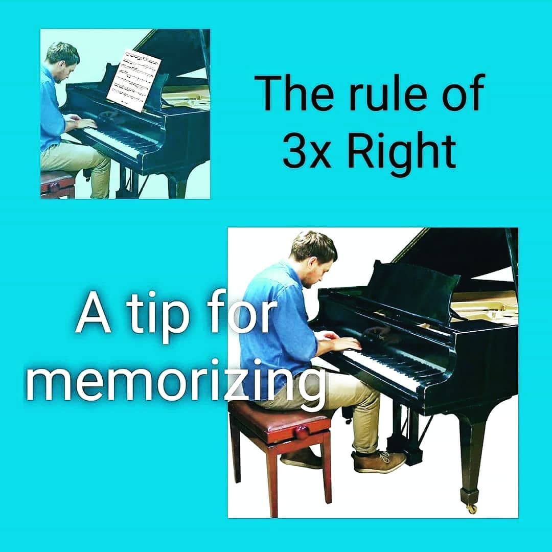How to memorize sheet music